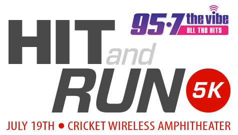 Join 95-7 The Vibe at the Hit and Run 5K!