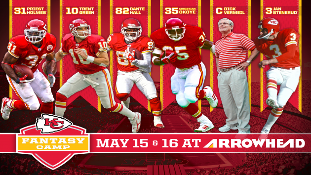 Chiefs Fantasy Camp – May 15th and 16th