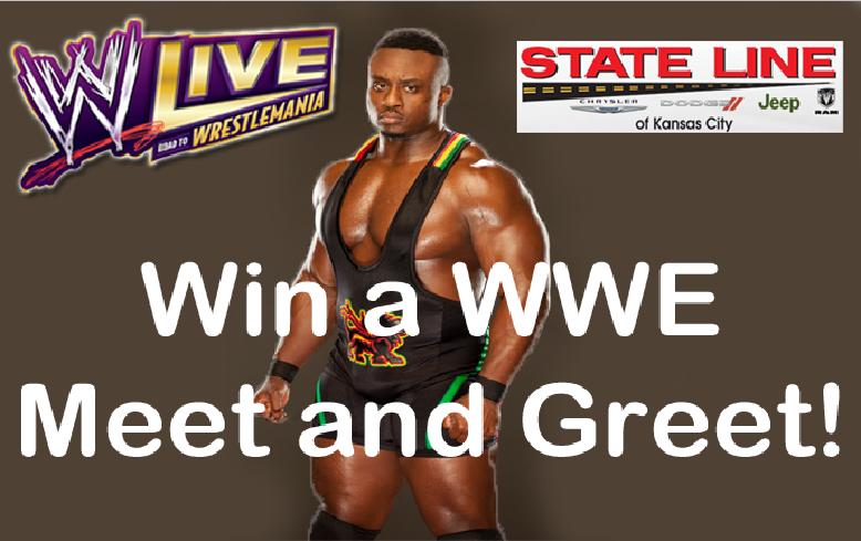WIN a WWE Meet & Greet