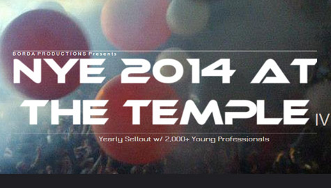 NYE at the Temple