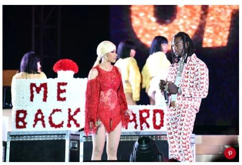 Offset Crashes Cardi B Show Trying to Win Her Back