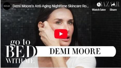 Demi's $1200 nightly skin care routine