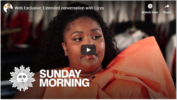 Lizzo's 'CBS Sunday Morning' interview