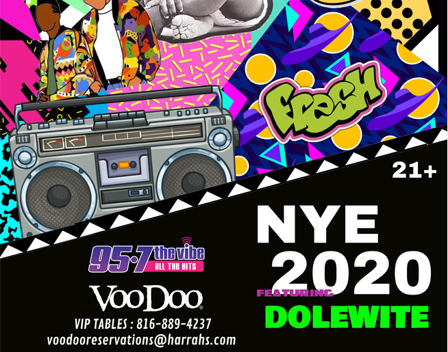 NYE 2020 // 12.31.19 @ Voodoo Lounge
