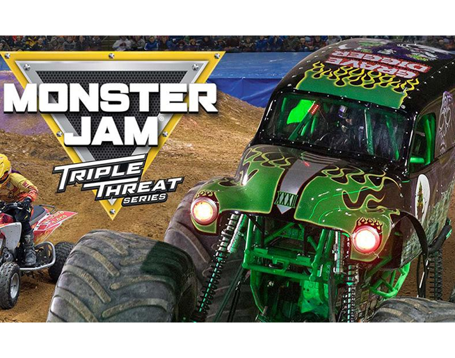 monster jam head