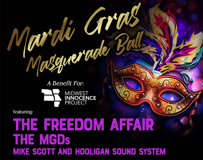 Mardi Gras Masquerade Ball // 2.21.20 @ The Uptown