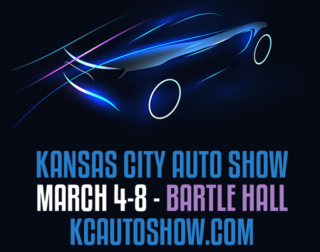 Kansas City Auto Show // 3.4-3.8 @ Bartle Hall