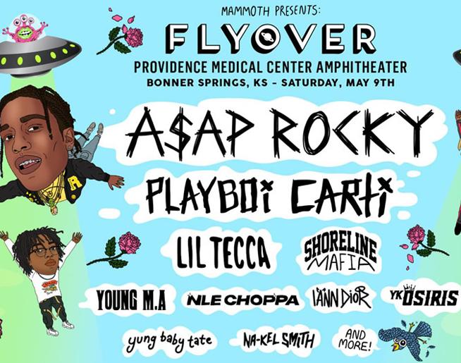 POSTPONED: Flyover 2020 // 5.9.20 @ Providence Amphitheater