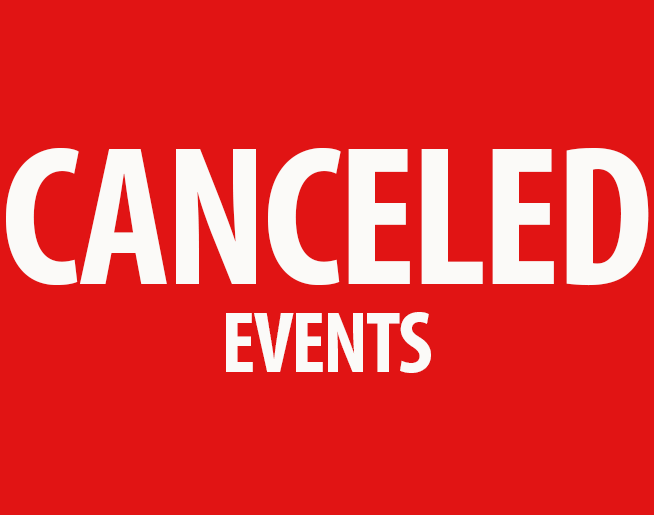 List of Canceled Events in KC