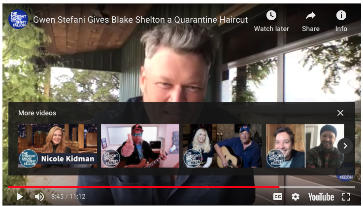 Blake Shelton… a trailblazer!