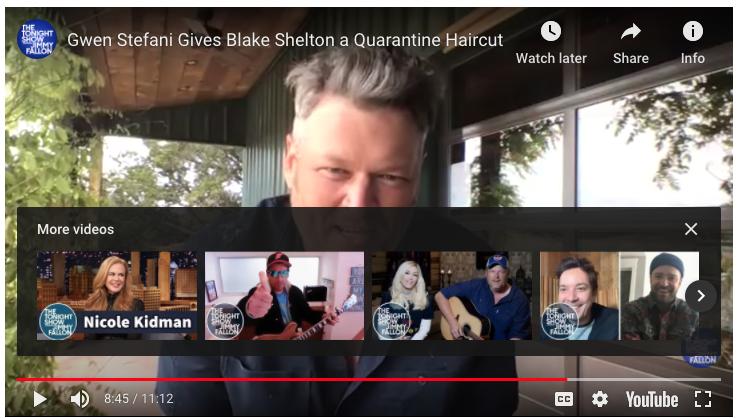 Blake Shelton… a trailblazer!