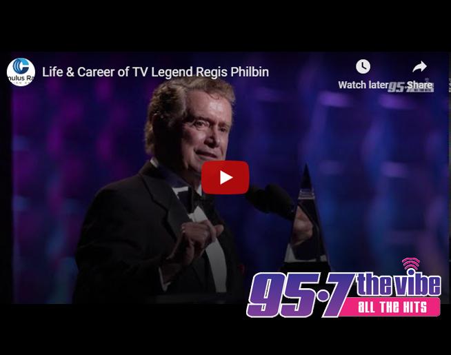 Celebrating the life & career of TV Legend Regis Philbin