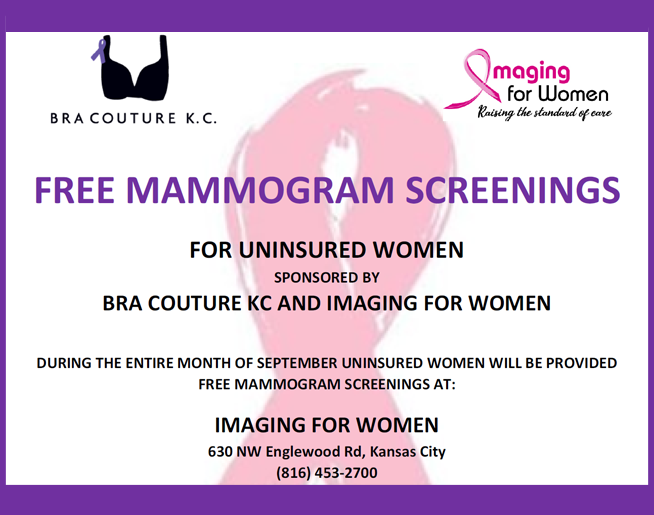 Free Mammogram Screenings in September!