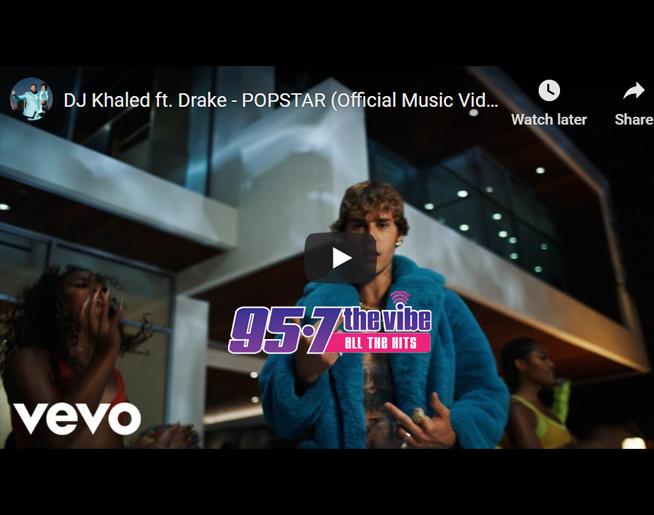 Drake & Khaled Drop POPSTAR Music Video Starring Justin Bieber