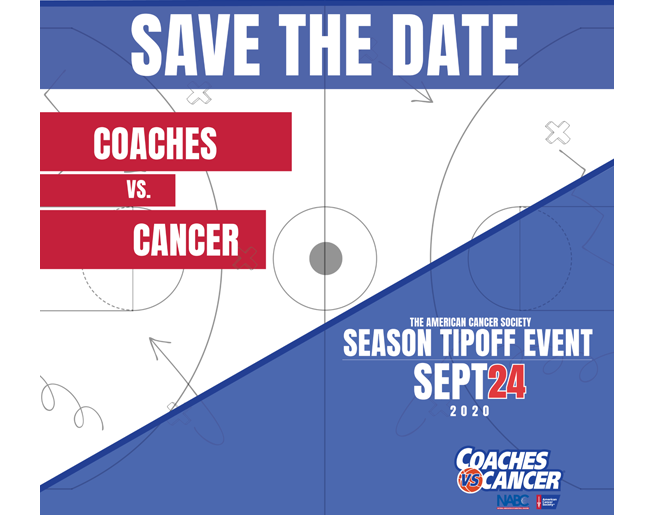 Coaches vs Cancer – Sept. 24