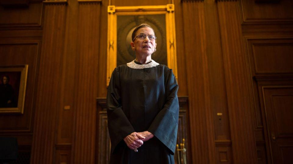 BREAKING: Supreme Court Justice Ruth Bader Ginsburg