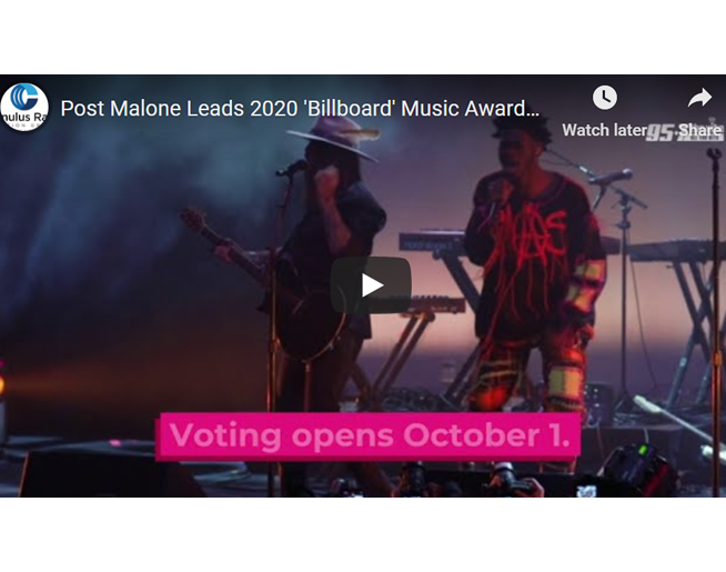 Post Malone Leads 2020 'Billboard' Music Awards Nominations