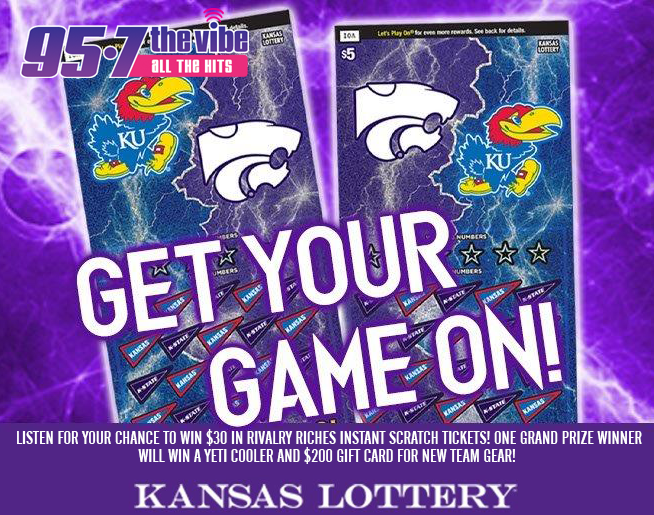 Listen to win with Kansas Lottery Rivalry Riches!