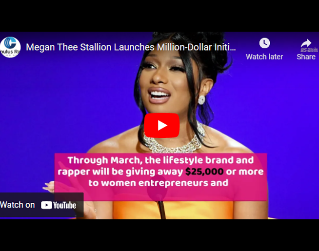 Megan Thee Stallion Launches Million-Dollar Initiative to Support Women Entrepreneurs