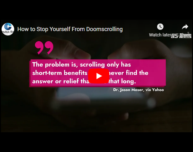 How to Stop Yourself From Doomscrolling