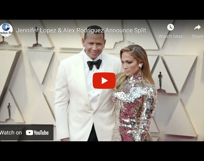 Jennifer Lopez & Alex Rodriguez Announce Split