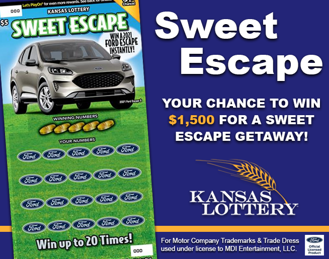 KS Lottery Sweet Escape Header