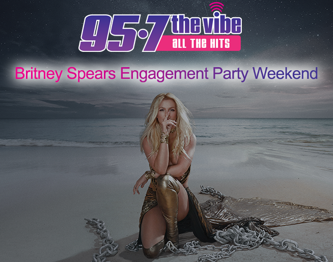 Britney Spears Engagement Party Weekend