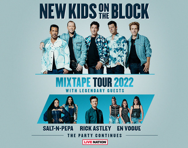 New Kids on the Block // 5.15.22 @ T-Mobile Center