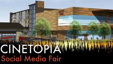 Cinetopia Social Media Fair this weekend!