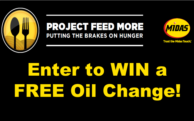 WIN a FREE Oil Change from Midas!!