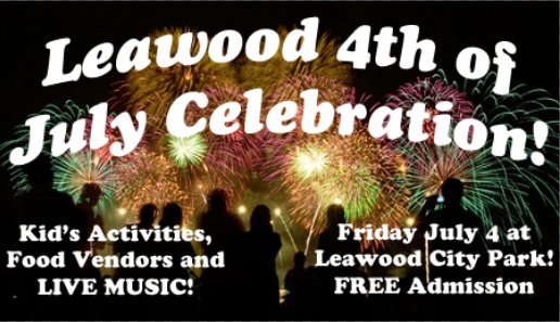 Join 105.1 JACK-FM at the Leawood July 4th Celebration!