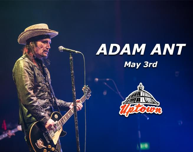 Adam Ant at Uptown Theater May 3rd