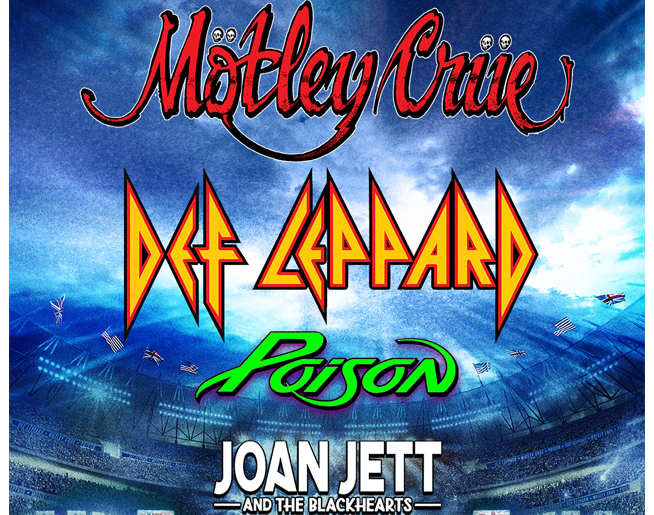 Def Leppard & Motley Crue – Kauffman Stadium June 23rd
