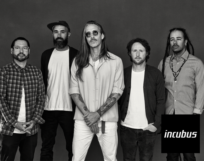 Incubus with 311 on July 26th at Providence Amphitheater