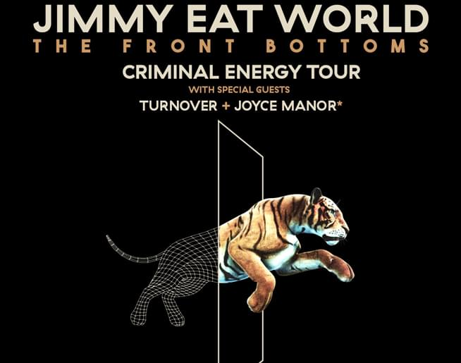 Jimmy Eat World at The Midland August 29
