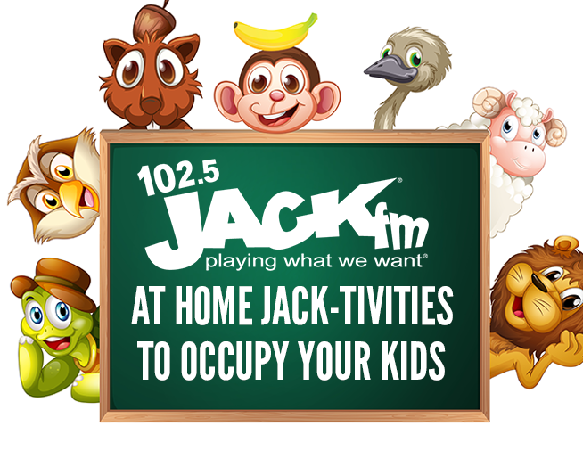 At home Jack-tivities to occupy kids!