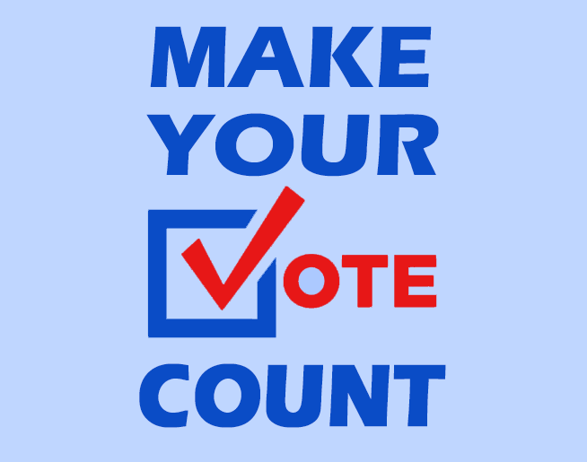 Make Your Vote Count 2020!