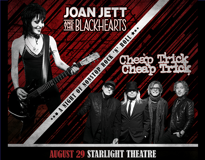 Cheap Trick and Joan Jett & the Blackhearts