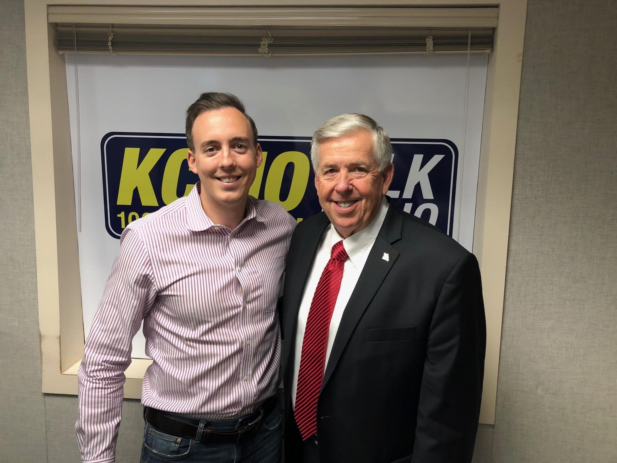Mike Parson Joins Pete Mundo To Talk About The Governor Race