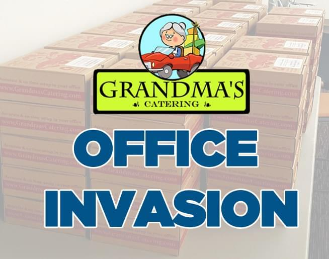 Grandma's Office Invasion – WIN lunch for 20!