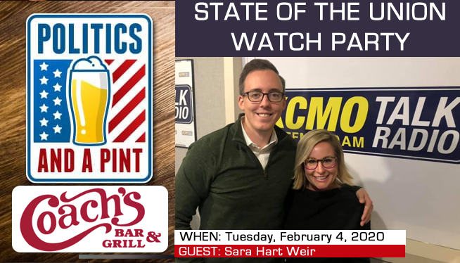 Politics and a Pint: State of the Union Watch Party