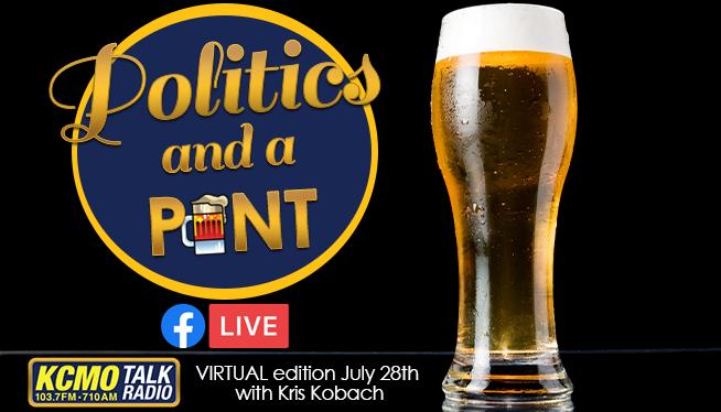 Virtual Politics and a Pint – with Kris Kobach