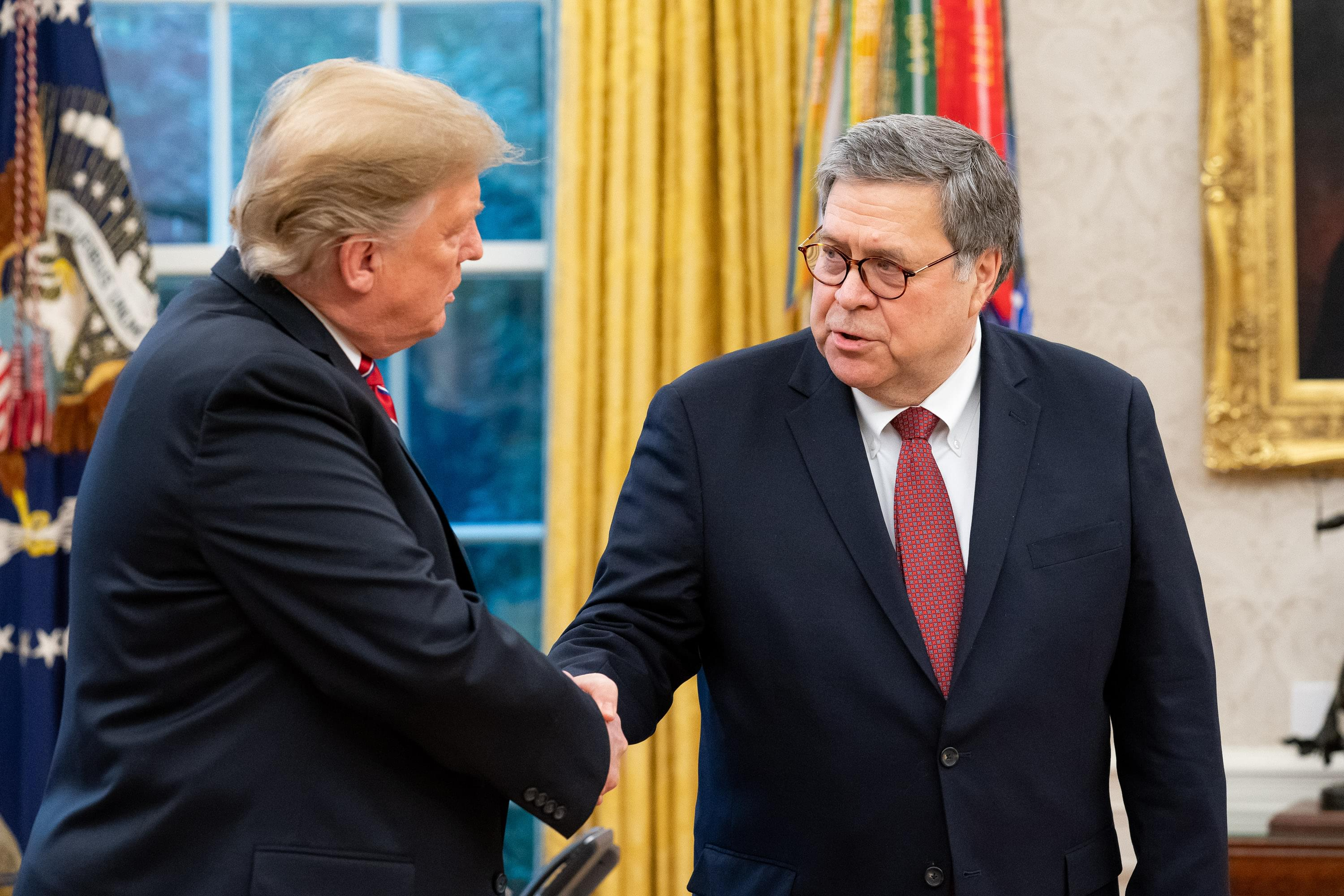 Attorney General Bill Barr Gives Update on Operation LeGend with Pete Mundo
