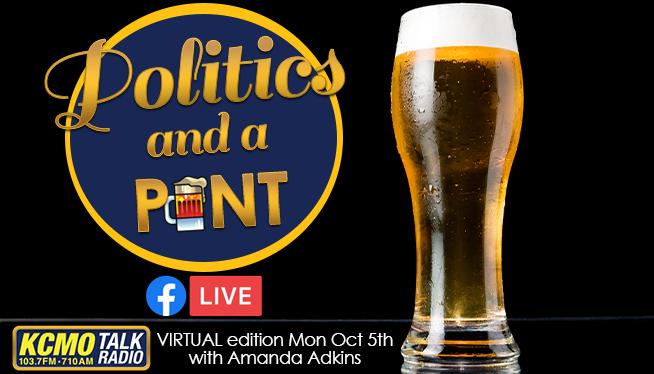 Politics and a Pint - Amanda Adkins