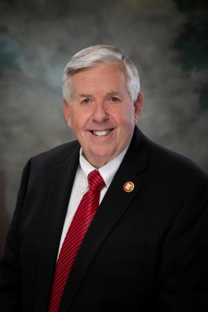 Missouri Governor Mike Parson Responds to Kansas City Police Budget Issue