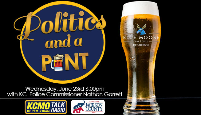 Politics & a Pint with KC Police Commissioner Nathan Garrett