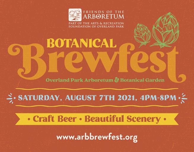 Botanical Brewfest // 8.7.21 @ OP Arboretum & Botanical Gardens