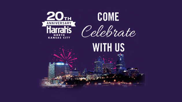 Celebrate Harrah's 20th Anniversary and WIN $20,000!