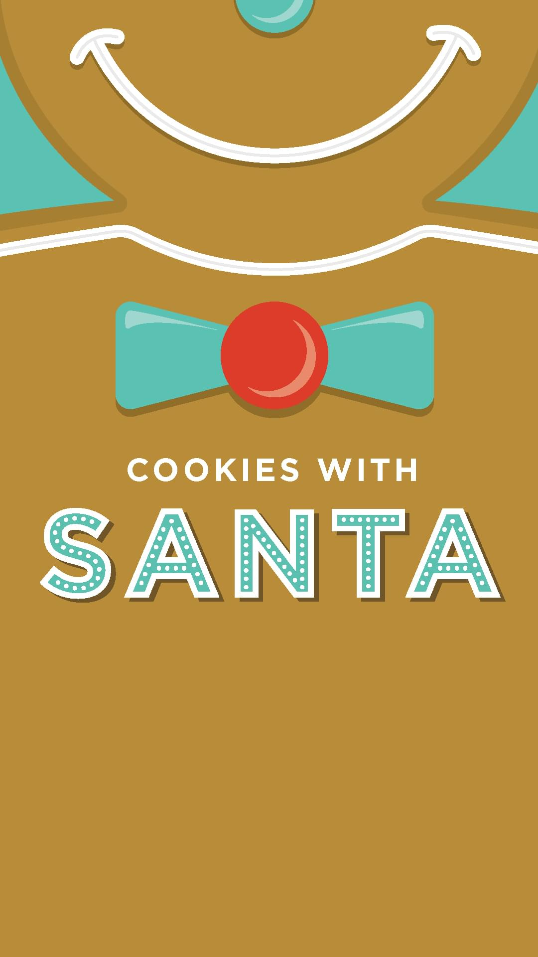 COOKIES WITH SANTA PRESENTED BY POTTERY BARN KIDS December 18