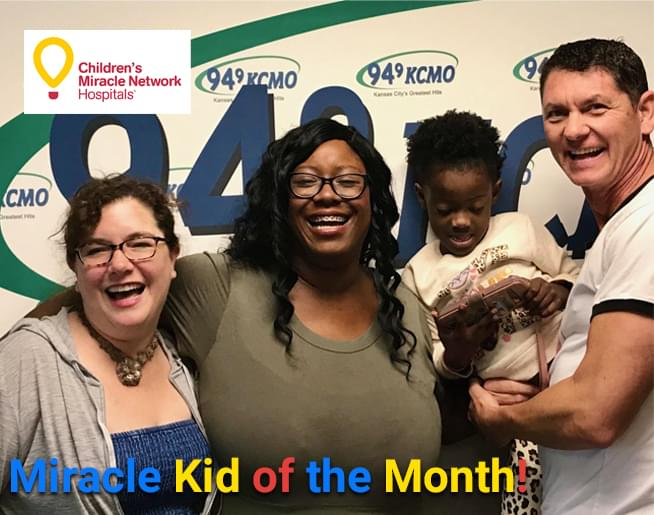 CMN's Miracle Kid of the Month!
